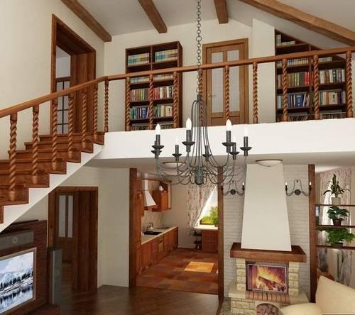 Второй свет в деревянных домах (41 фото): проекты домов из дерева с освещением вторым светом и балконом, дизайн