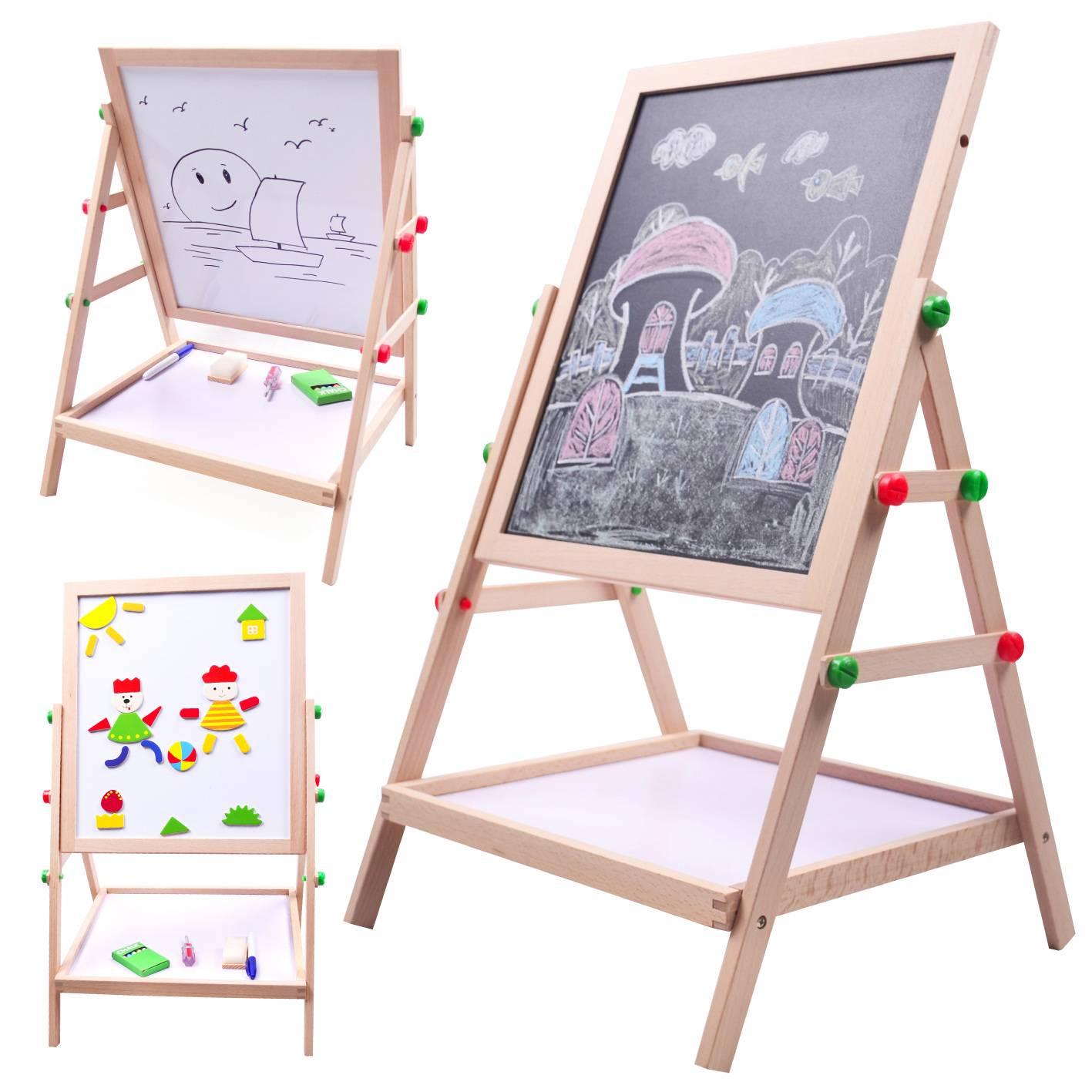 Мольберт своими руками - как правильного выбрать конструкцию детского, для художника или чертежника
