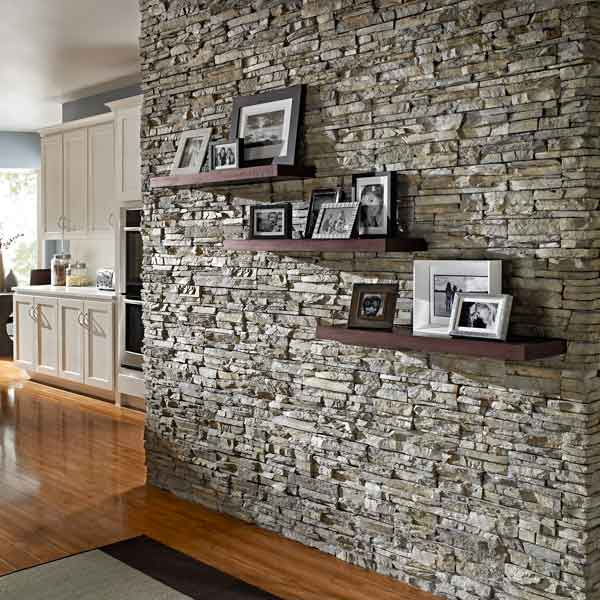 Декоративная отделка под кирпич в интерьере квартир: фото, идеи, как сделать своими руками