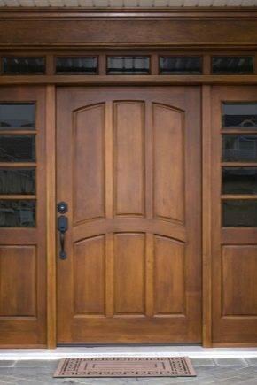 Как утеплить деревянную дверь: как правильно уплотнить входную изнутри