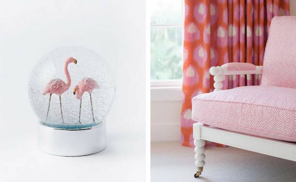 Обои с фламинго в интерьере - про дизайн и ремонт частного дома - rus-masters.ru