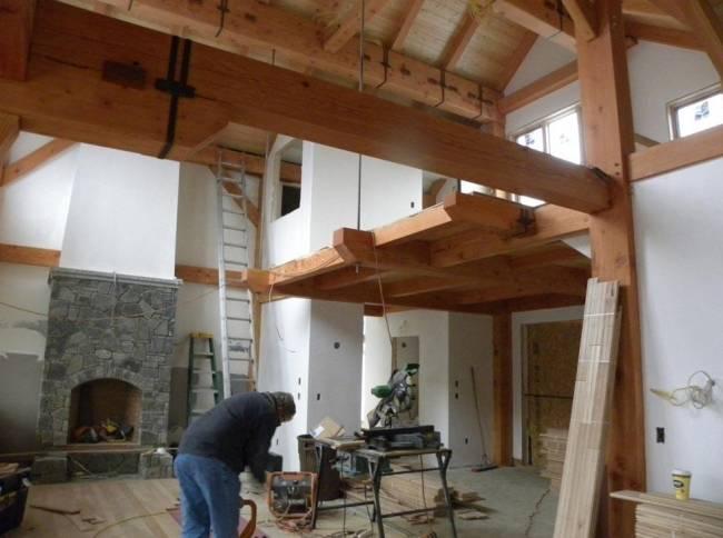 Строим дом из сип панелей: технология строительства, плюсы и минусы