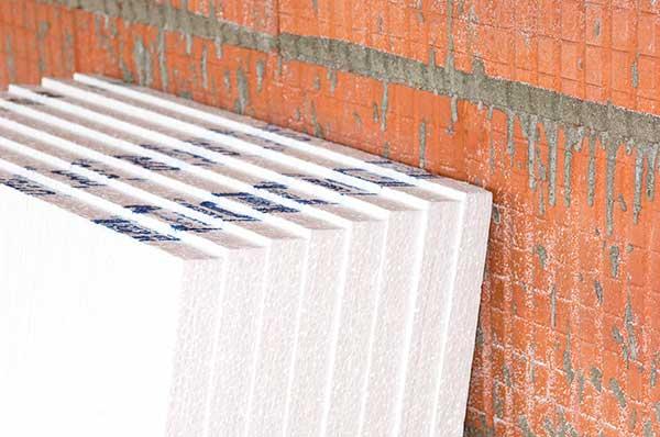 Утепление пенопластом наружных стен частного дома