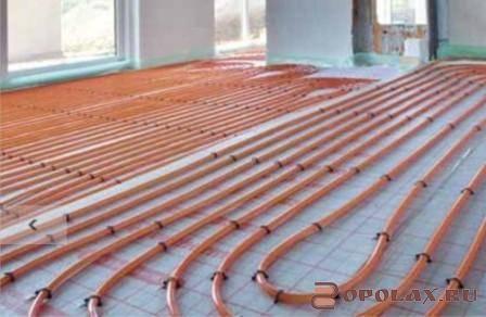 Трубы для теплого водяного пола: выбор, расчет длины и диаметра