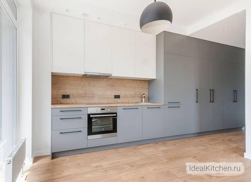 Серая кухня в интерьере: реальные фото, цветовое сочетание