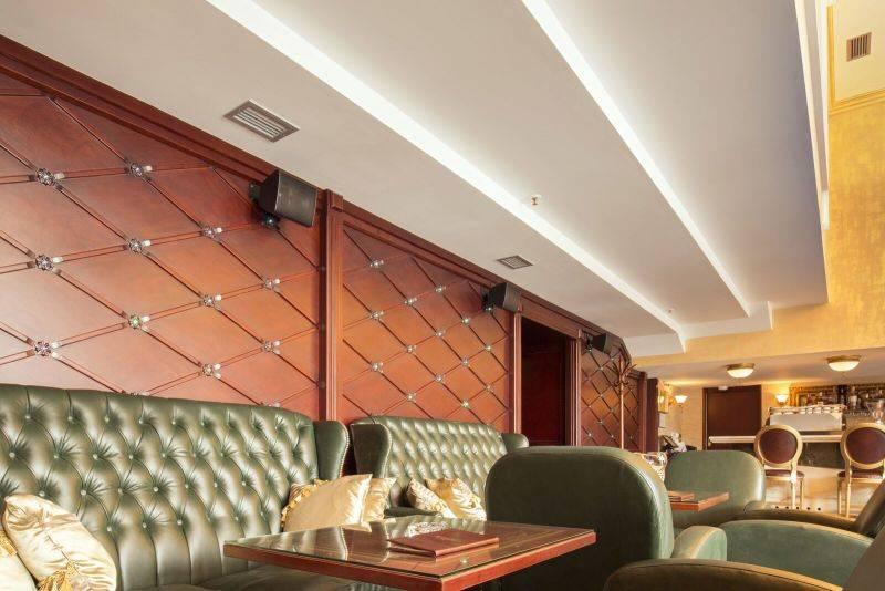 Особенности монтажа потолка из гипсокартона с подсветкой