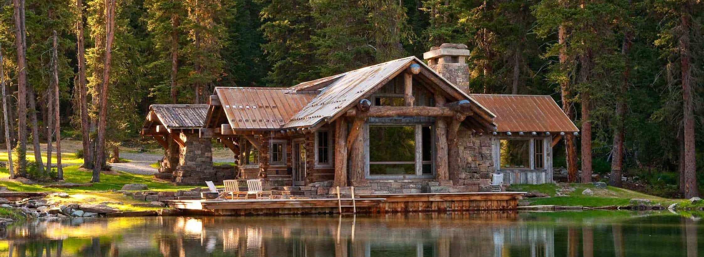 Стиль шале в интерьере загородного дома: приметы альпийского стиля и фото красивых примеров