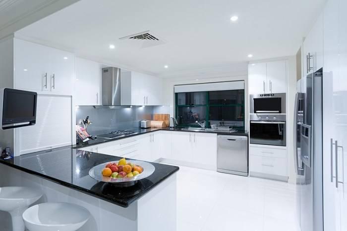 П-образные кухни: особенности и дизайн