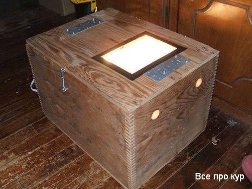 Инкубатор из холодильника: пошаговая инструкция, фото- и видеообзор
