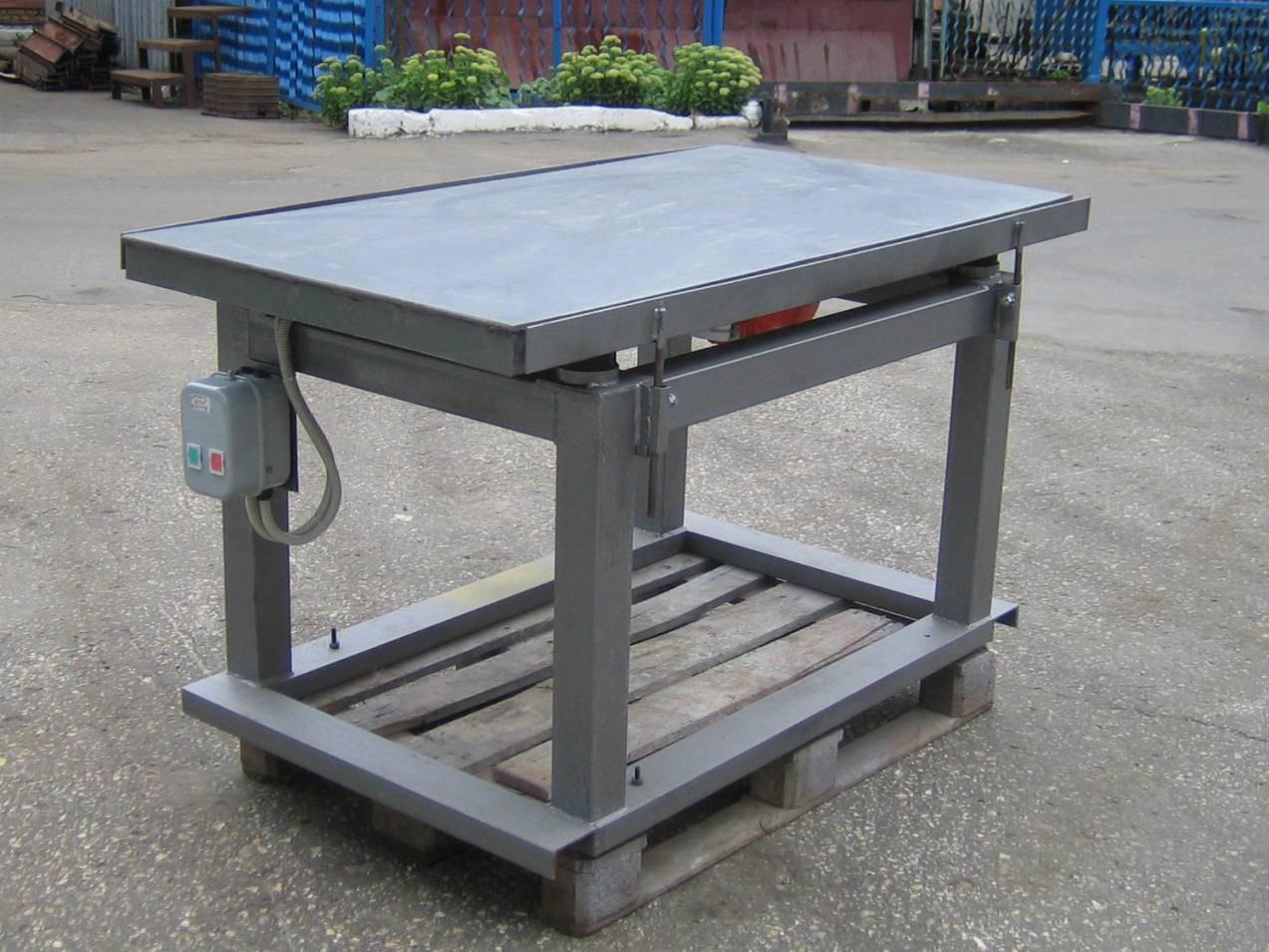 Вибростол для тротуарной плитки - конструкция и изготовление своими руками