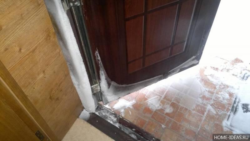 Как утеплить металлическую входную дверь своими руками?