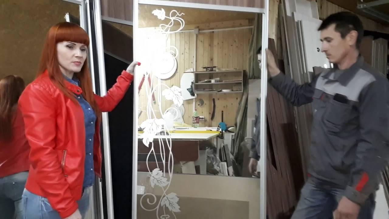 Зеркальные двери-купе в интерьере