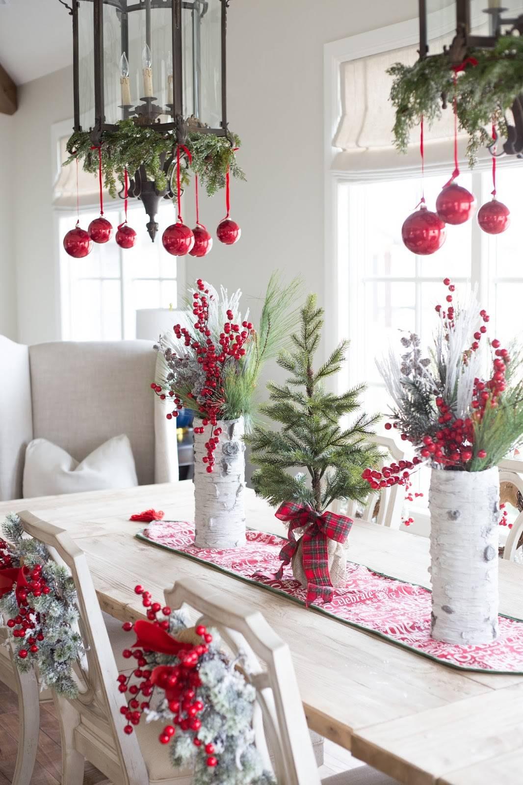Как украсить новогодний стол своими руками - идеи и советы с фото
