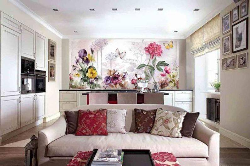 Стиль, яркость и реалистичность в одном сюжете: фото интерьеров комнат с фотообоями
