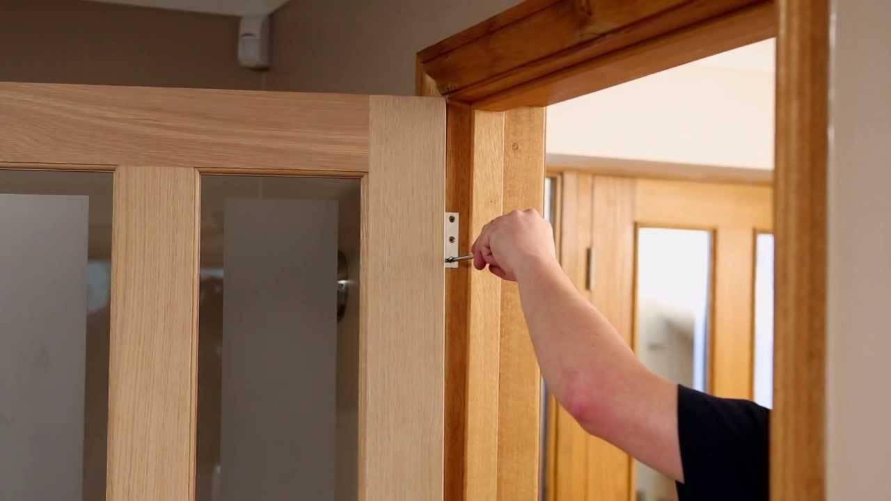 Пошаговая врезка дверных петель своими руками