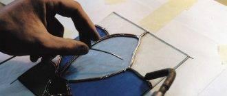 [мастер-класс] витраж на стекле своими руками | +трафареты