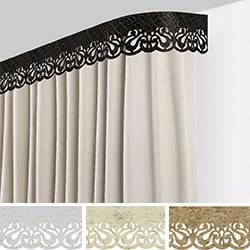 Что такое потолочный багет для штор? | а за окном
