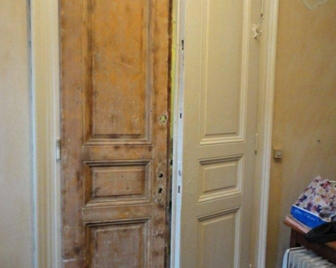 Обшивка своими руками входной двери панелями мдф