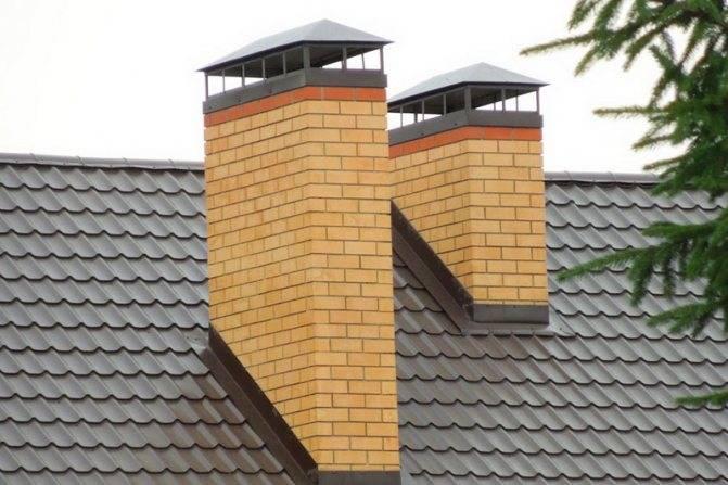 Герметизация печной трубы на крыше из профнастила. инструкция