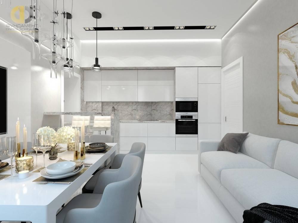 Интерьер гостиной в светлых тонах: свежие идеи стильного дизайна