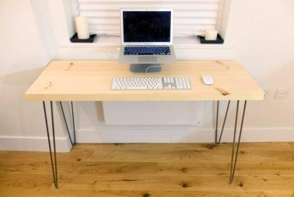 Компьютерный стол своими руками: чертежи и схемы, инструменты и материалы, как сделать угловой и навесной, отреставрировать старый