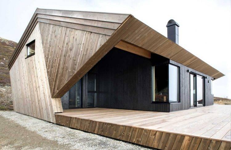 Дизайн домов, обшитых сайдингом: фото идей