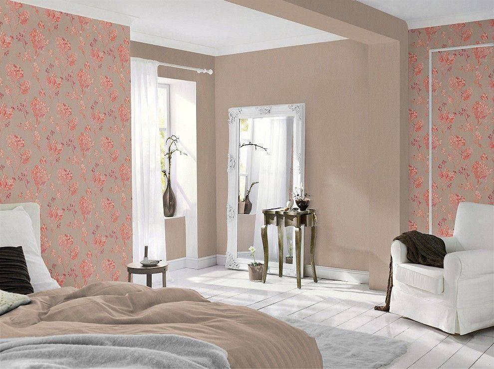 Комбинация обоев: 135+ (фото) дизайна в спальне/гостиной/детской