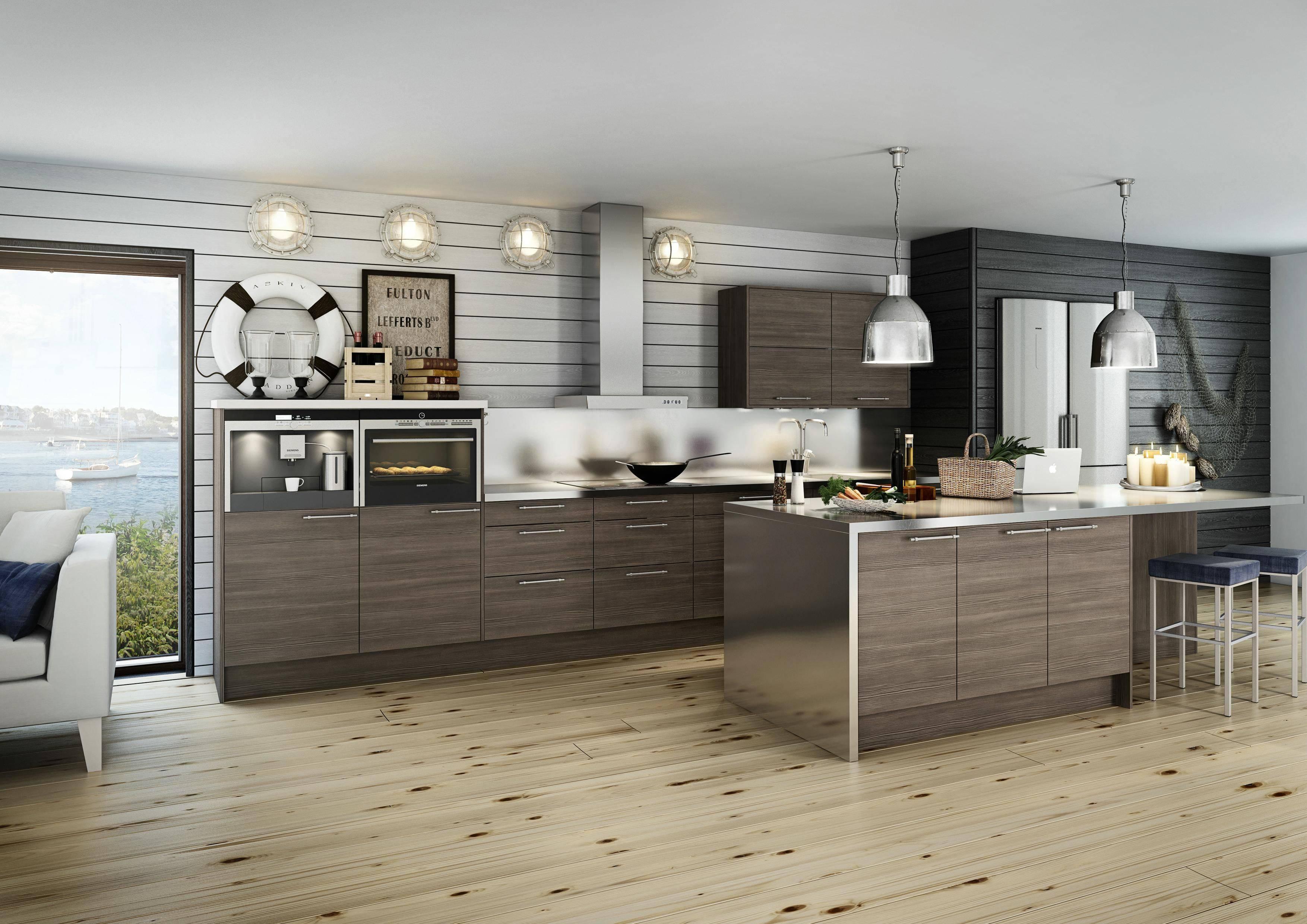 Кухня в морском стиле – 20 фото готовых интерьеров, особенности оформления