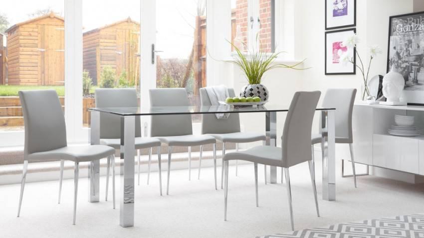 Современные кухонные столы: оригинальный и необычный дизайн в интерьере кухни