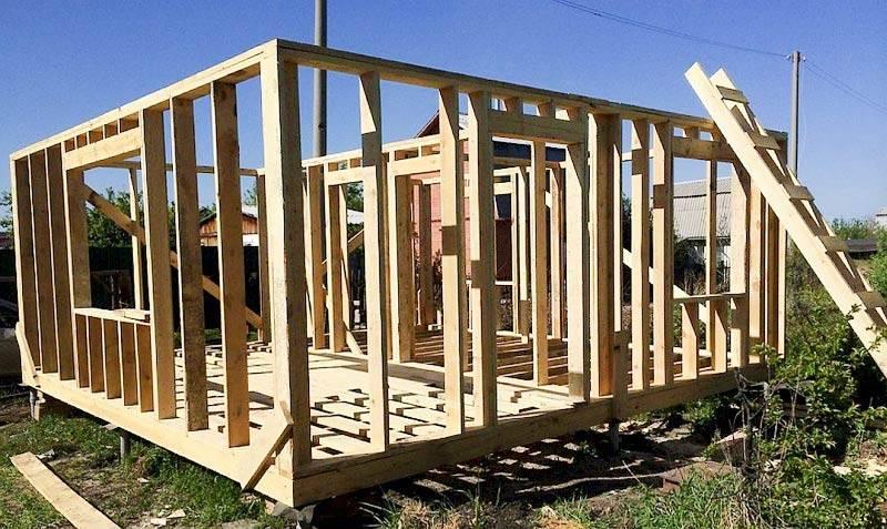 Собственный дом всего за 380000 рублей! наш опыт строительства каркасного дома и лайфхаки для экономии
