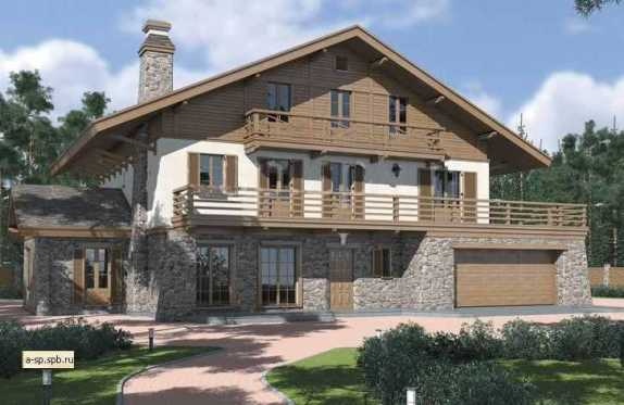 Преимущества и недостатки комбинированных домов из камня и дерева, особенности проектирования