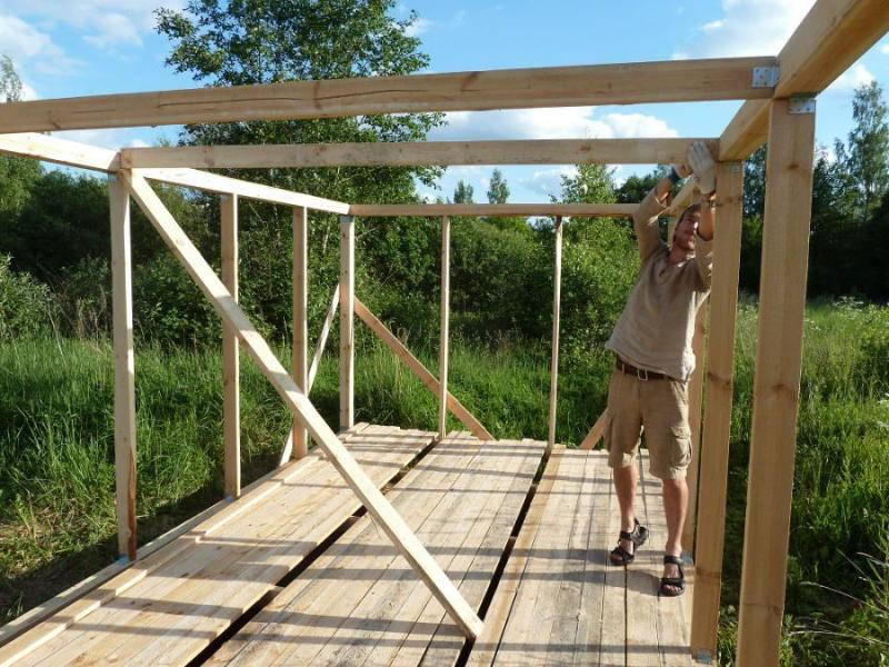 Сарай своими руками: строим быстро и дешево