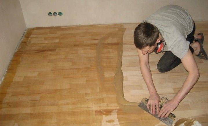 Готовим шпаклевку для деревянного пола своими руками