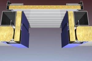 Тонкости процесса отделки откосов сэндвич-панелями