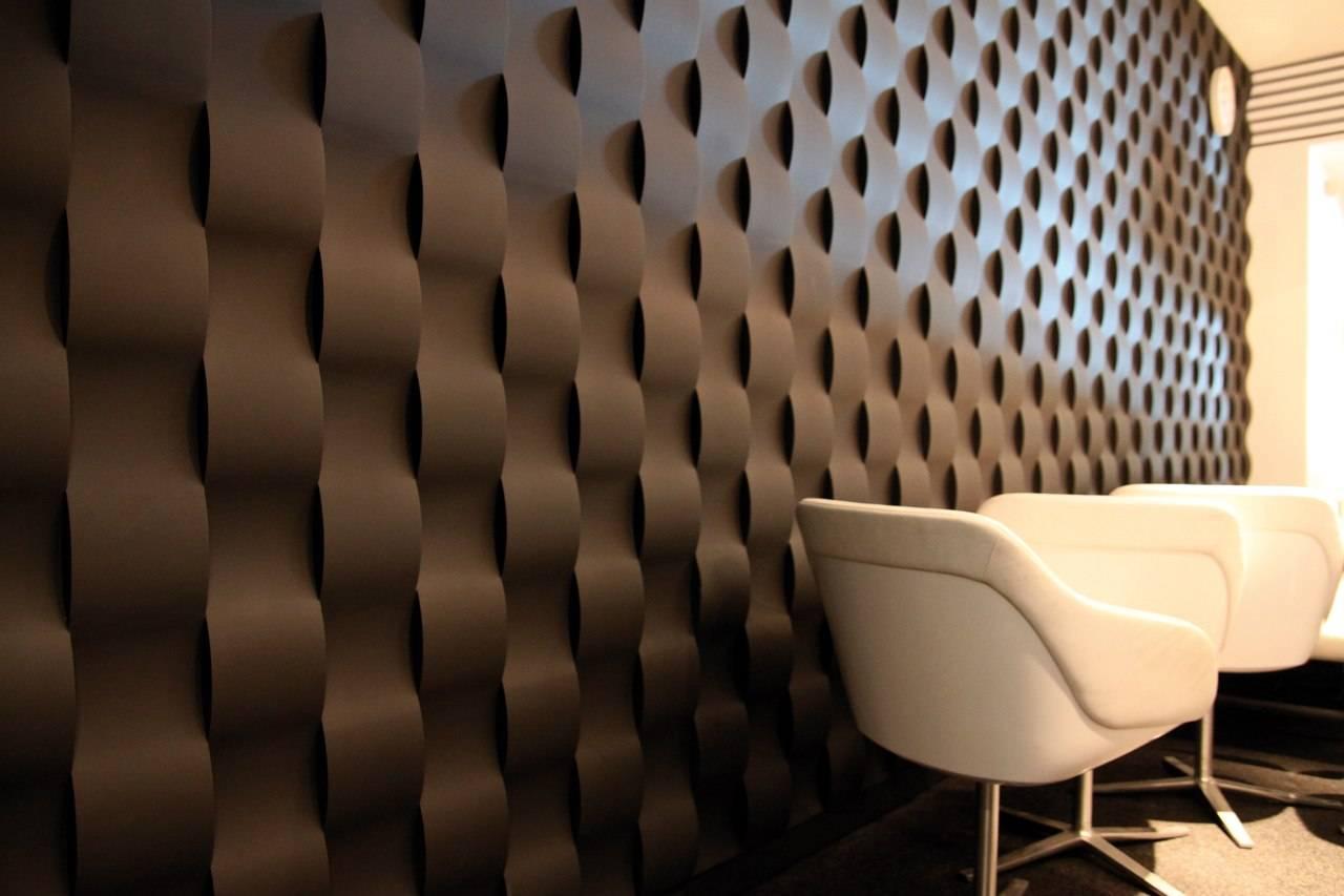 Украшаем стены 3d-панелями - виды, идеи, советы