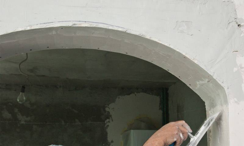 Монтаж арки из гипсокартона в дверном проеме своими руками: Пошаговая инструкция