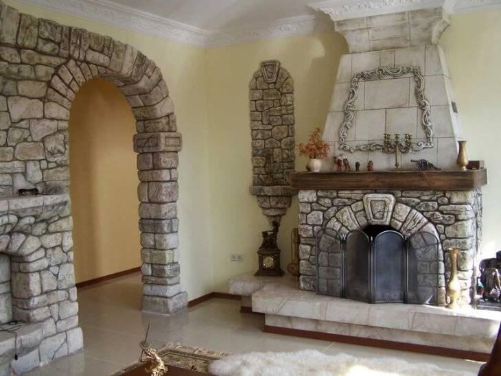 Камин своими руками – лучшие идеи и рекомендации как построить и где разместить камин (100 фото)