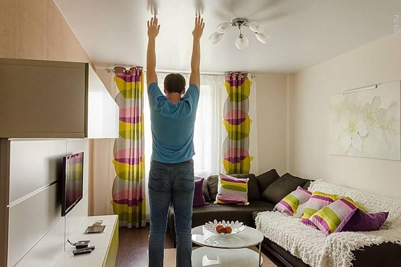 Какова стандартная высота потолков в панельных домах?