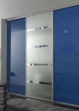 Размеры двери-купе на 3 створки; из чего делают панели раздвижных дверей