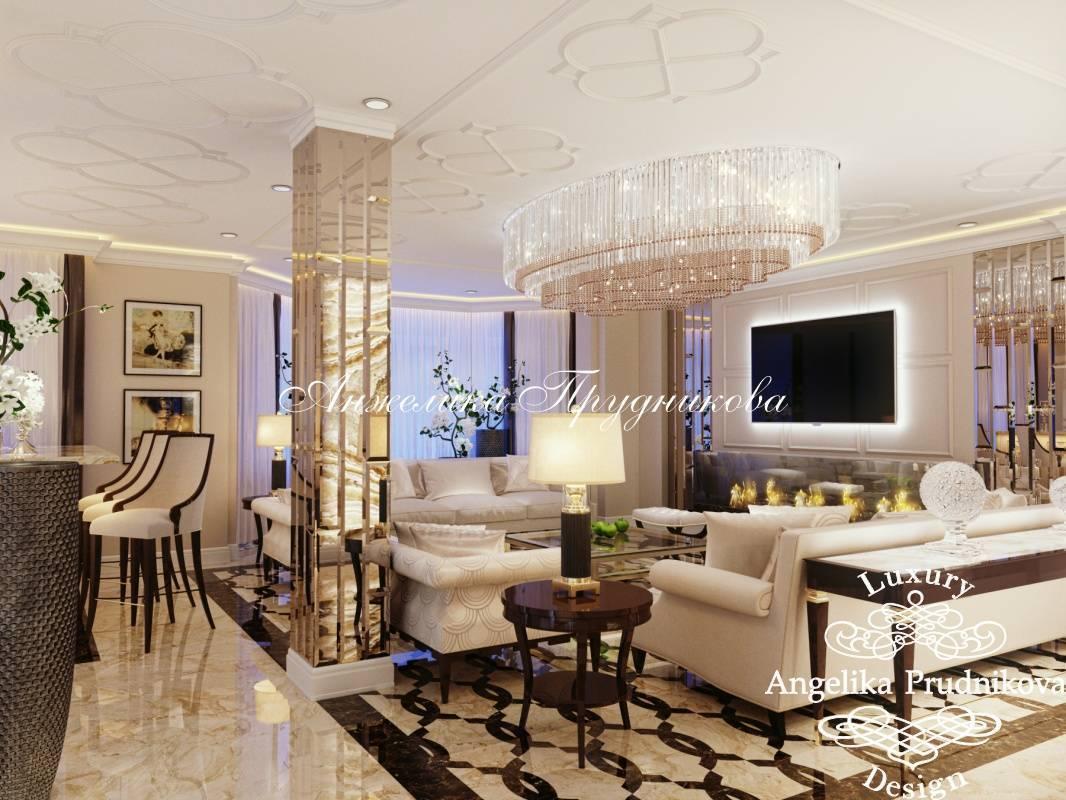 Стиль арт-деко: изысканный интерьер для гостиной, спальни, кухни и ванной комнаты