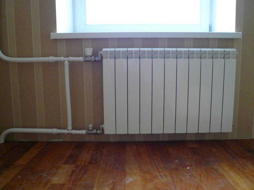 Правильная установка радиаторов отопления: под окном, в нише, на стене