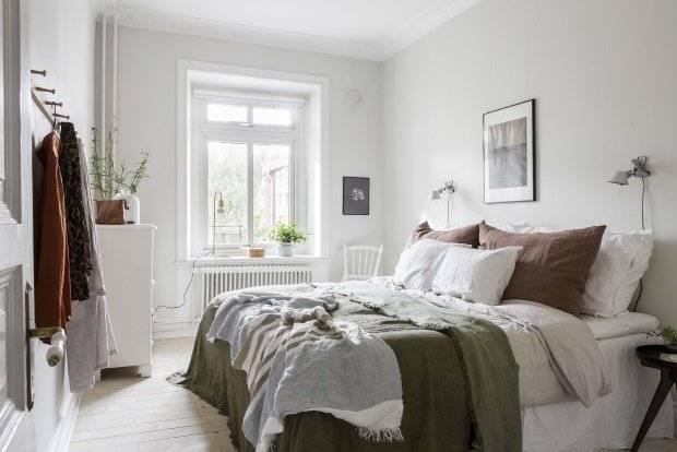 Спальня в скандинавском стиле: 70 фото с идеями комфортного дизайна интерьера