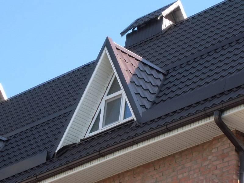 Слуховое окно на крыше, конструкция и чертежи