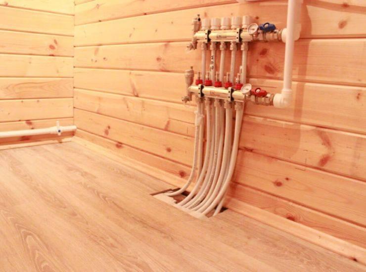 Теплый пол в частном доме своими руками: виды, варианты теплого пола с нуля, основа, технология монтажа водяных и электрических систем отопления