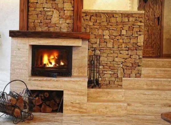 Печь в частном доме – интересные идеи оформления - уютный дом