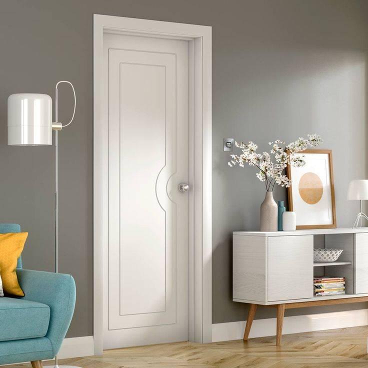 Белые межкомнатные двери в интерьере