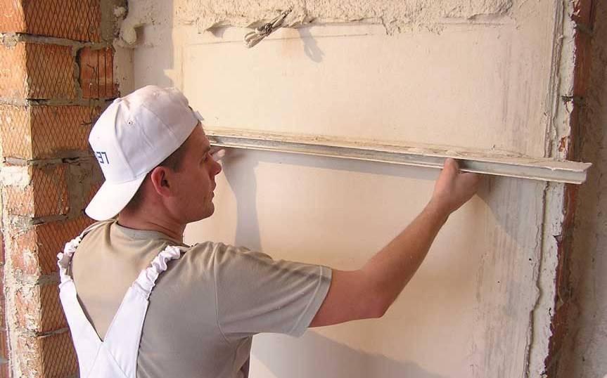 Штукатурка стен цементным раствором: как правильно штукатурить, расход цемента и цементно-песчаной смеси на 1 м2 штукатурки