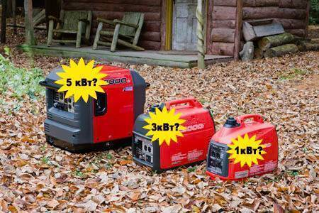 Как правильно подобрать генератор для загородного дома
