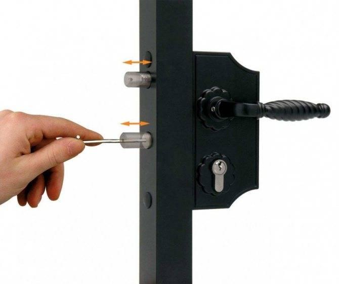 Установка замка на металлическую дверь: пошаговая инструкция