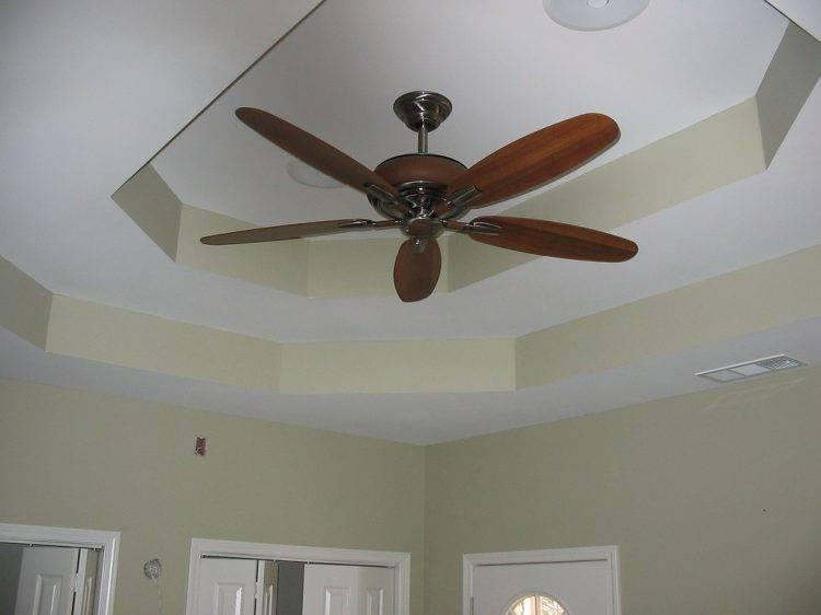 Дизайн потолка из гипсокартона в спальне — более фото идей